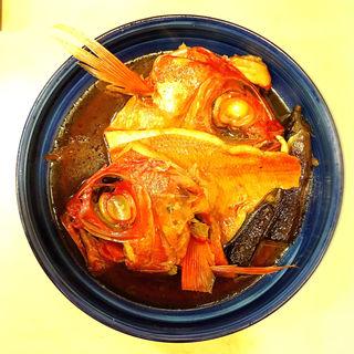 金目鯛の煮付け(ひさ花 )