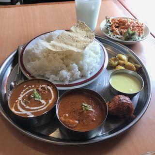 ネパールタリーセット(アビスカ 神谷町店 (indian restaurant ABISKAR))