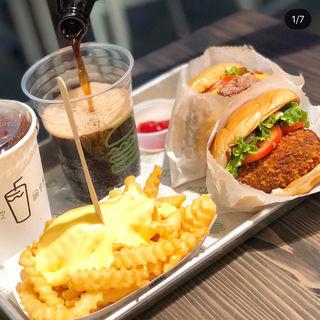 Shroom Burger(シェイクシャック阪神梅田本店)