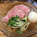 冷やし  鶏醤油(麺や 一想)