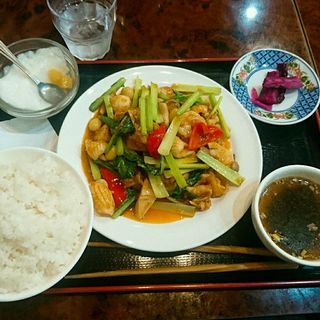 八宝菜定食(江南酒家)