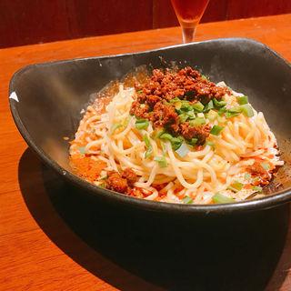 汁なし坦々麺(虎穴)