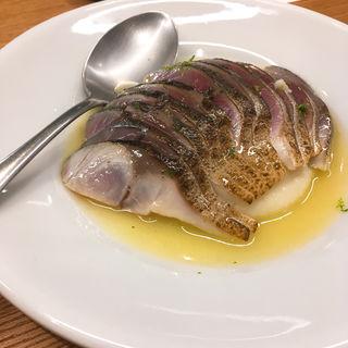 炙り〆鯖とジャガイモ(Yorgo)