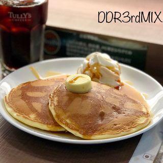 クラシックパンケーキ メイプルバター(タリーズコーヒー FKD宇都宮店 )