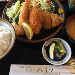 ミックスフライ定食(キッチンハイツ )