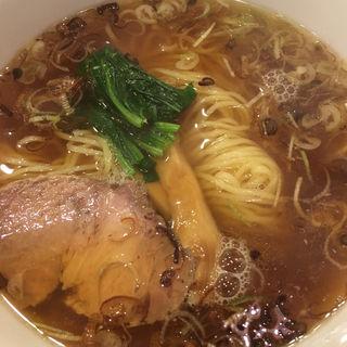 醤油ラーメン(居酒屋都)