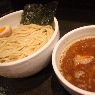 辛醤油つけ麺/大盛(鬼武者)