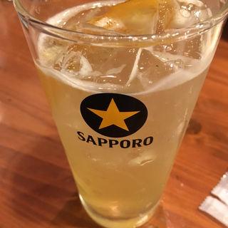 美味しいレモンサワー(居酒屋都)
