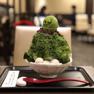 イオリスペシャル宇治金時(イオリカフェ (【旧店名光琳堂福寿庵】))