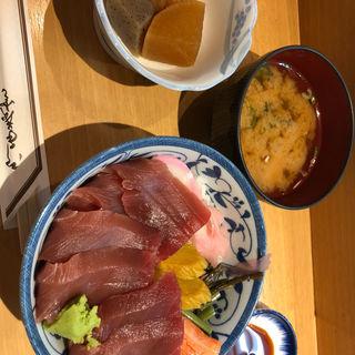 鉄火丼(扇寿司 本店 )