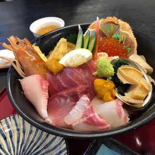 特選海鮮丼(海陽亭 境港店 (カイヨウテイ))