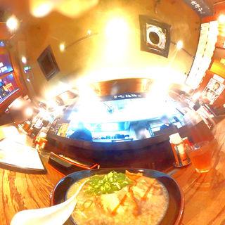 豚骨醤油ラーメン(麺屋 七福神 堀川御池店 )