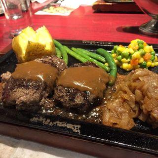 オリジナルハンバーグステーキ(ハングリータイガー 横浜モアーズ店 )