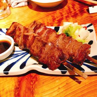 たんかの牛タンと牛サガリのハーフ焼き(たんか (TANCA))