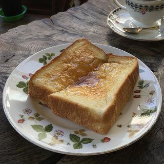 ハニートースト(喫茶がんび )