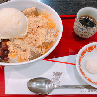 氷あんみつ(茶寮 季 上本町店 (さりょう とき TOKI))