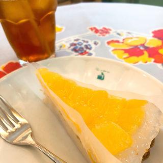 パイナップルとチーズムースのタルト(キル フェ ボン 静岡 (Quil Fait bon))