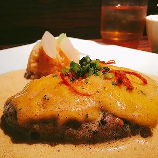 らいむらいと風チーズハンバーグ(旬菜ステーキ処 らいむらいと (シュンサイステーキドコロ ライムライト))