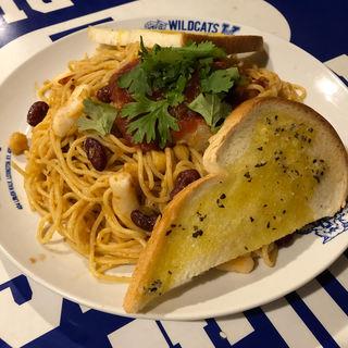 スパゲティオブサザンカルフォルニア(ユーケー ワイルドキャッツカフェ 高井田本店 (U・K WILDCATS CAFE))