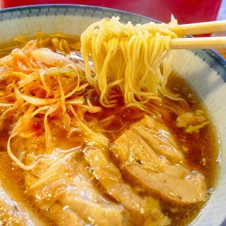 辛ねぎチャーシュー麺(はなさき家)