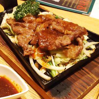 国産牛の鉄板焼(羅豚 川崎店 (らぶ))