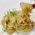 毛蟹カッペリーニ(冷製)