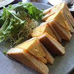 卵トーストモーニング(カフェ BAMBOOHOUSE (バンブーハウス))