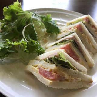サンドイッチモーニング(カフェ BAMBOOHOUSE (バンブーハウス))