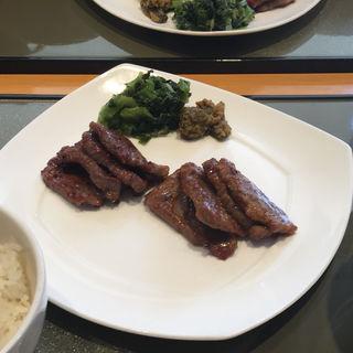 牛タン定食 ミックス(伊達の牛たん本舗 仙台駅3階 牛たん通り店 (だてのぎゅうたんほんぽ))