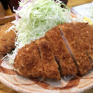 とんかつ定食(竹亭 鹿児島中山店 )