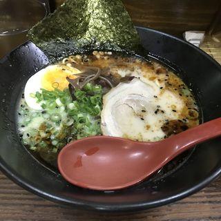 黒らーめん(麺屋 一矢 中州本店)