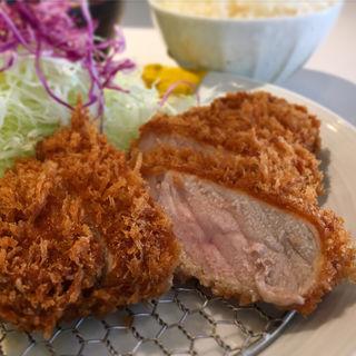 ロースかつランチ定食(とんかつ檍 浅草橋店)