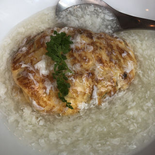 かに玉(塩味)(中国料理 四川  (シセン))