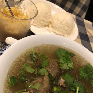 オックステールスープ(YO-HO's cafe Lanai)