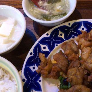 鶏の唐揚げ山椒味