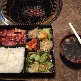豚骨付カルビ定食(第一韓国館 )