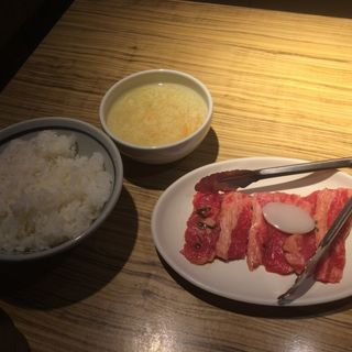 ランチ焼肉定食(寿恵比呂 北口店)