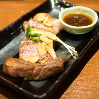 常陸牛のサーロインステーキ(串もん 末吉や)