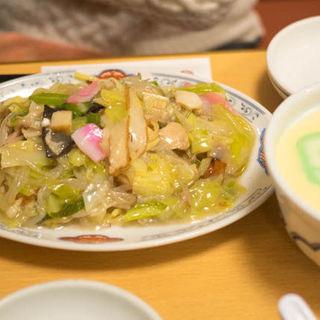 小皿うどんと茶碗蒸しのセット(吉宗 銀座店)