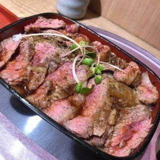 大坂ビフテキ重(ビフテキ重・肉飯 ロマン亭)