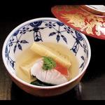 【煮物】金目鯛と筍生ワカメの炊き合わせ