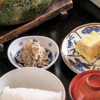 【食事】土鍋ご飯(ぎんざ 一二岐 (ぎんざ いぶき))