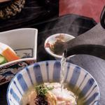昼のコース 【お食事】鯛茶漬け