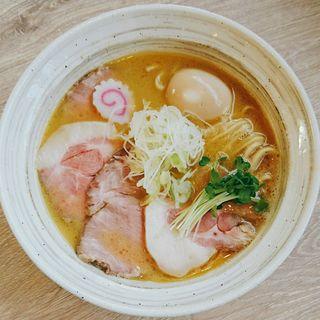 魚介鶏そば 醤油(MENYA BIBIRI)