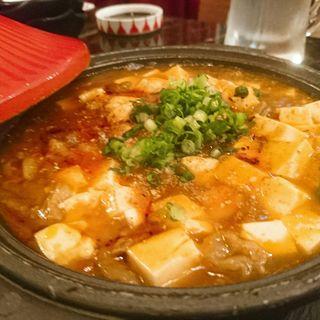 和牛麻婆豆腐(和牛炭焼き日本酒バル LUMP)