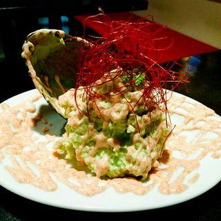 アボカド明太子のポテトサラダ(ステーキ食堂BECO)
