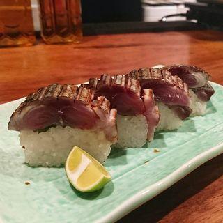 鯖棒寿司(酒と肴と旨いもん 笑緒一)