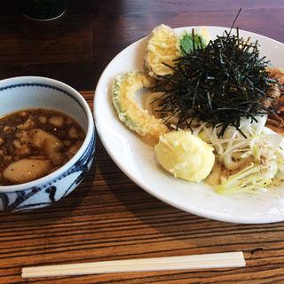 天ぷら肉つけうどん