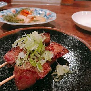 牛タン串焼き(牛宝)