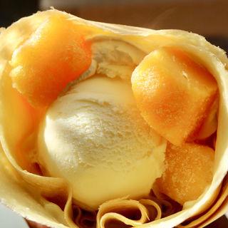 マンゴーアイスクリーム(ちぇりーろこ)